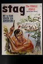 Stag Apr 1956 Rafael de Soto Cvr, Rudy Nappi, Vic Prezio,John Jakes; Bruce Ellio