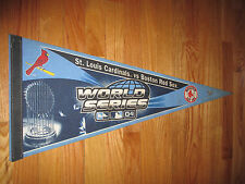 "2004 WORLD SERIES St Louis Cardinals vs BOSTON RED SOX 30"" Pennant TROPHY"