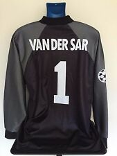 AFC Ajax VAN DER SAR 98/99 GoalKeeper Football Shirt (L) Soccer Jersey
