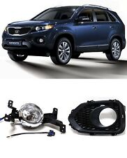 [For KIA Sorento 2011-2013] OEM Fog Lamp Fog Light + Cover + Connector SET LH