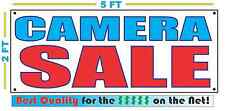 CAMERA SALE Full Color Banner Sign NEW Larger Size Best Quality for the $$$