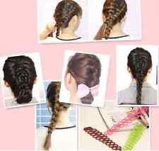 2pcs S Shape Hair Styling Salon Clip Stick Bun Maker Braid Tool Hair Accessories