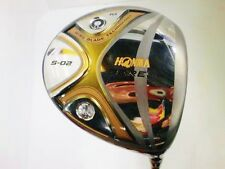 2STAR HONMA 2012model BERES S-02 10deg S-FLEX DRIVER 1W Golf Clubs