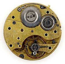 SWISS LEVER POCKET WATCH MOVEMENT 30 HOUR SPARES & REPAIR R90
