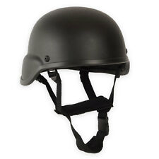 US-Army Style Tactical Airsoft Paintball Replica MICH Training Bump Helmet Black