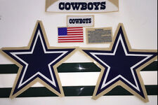 DALLAS COWBOYS F/S-Football Helmet DECALS/COMPLETE SET WITH SIDES AND EXTRAS R
