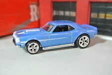 Hot Wheels '68 Chevy COPO Camaro - Real Riders - HW Redliners - Loose 1:64 Blue