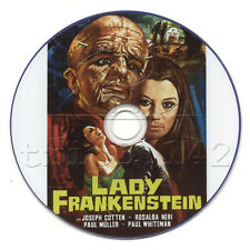 Lady Frankenstein (1971) Classic Horror Starring Rosalba Neri, on DVD