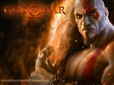 POSTER GOD OF WAR KRATOS 2 PLAYSTATION 3 PLASTIFICATO 1