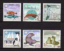 17041). POLAND 1987 Used Wild Life and Ships