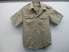 VTG US Army/Air Force Short Sleeve Khaki Men's Shirt Desert Sand Chino M