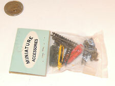 Metal Miniature Train Accessories in original package (3909)