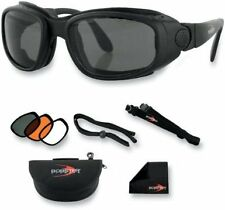 BOBSTER SPORT/STREET CONVERTIBLE GOGGLE/SUNGLASSES WITH LENSES BSSA001AC