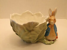 1998 Beatrix Potter's Peter Rabbit Planter Made in the Philippines for Teleflora