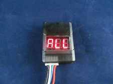 2-8S Lipo Cell Checker with Low Voltage Alarm Buzzer onboard manual