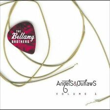 BELLAMY BROTHERS - Angels & Outlaws, Vol.1 (CD, Mar-2005, Curb) LIKE NEW, Exclnt