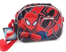"Marvel Ultimate Spider-Man Boy's Shoulder Carry On Bag 9.5"" x 8"" NWT"