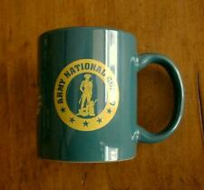 US Army Reserve/National Guard/3rd Armored Cavalry CERAMIC MUG Green/Yellow