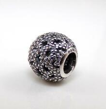 Pandora Sterling Silver Shimmering Lace Bead Charm
