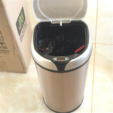 Touch-Free Sensor Automatic Aluminium Touchless Kitchen Trash Can 12L/3.2US Gal