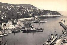 BR53213 L entree du port et le mont boron ship bateaux Nice        France