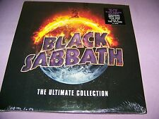 BLACK SABBATH ULTIMATE COLLECTION BEST OF 180 GRAM 4 VINYL LP SET SEALED