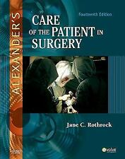 Alexander's Care of the Patient in Surgery (Care of the Patient in Sur-ExLibrary