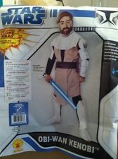 STAR WARS DELUXE OBI -WAN KENOBI CHILD COSTUME SIZE MEDIUM