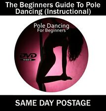 Pole Dancing For Beginners Step By Step Guide DVD (Free UK Delivery) **