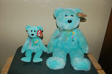 ARIEL the Bear - Ty Beanie Baby and Buddy  - In Memory of Ariel Glaser - MWMT