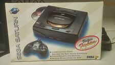 SEGA SATURN BUNDLE COMPLETE IN THE ORIGINAL BOX WITH 10 GAMES 2 CONTROLLERS