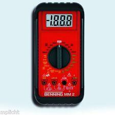 Benning 044028 Digital Multimeter MM 2 multimètre numèrique IEC/EN 61010-1