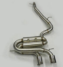 Becker Cat Back Exhaust Fits 05 06 07 08 09 Volkswagen VW Golf R32 MK5 MK V