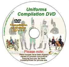 DVD compilation of uniforms CDs 1, 2 & 3 now Includes  4 !! Napoleonic, knotel