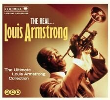 Real Louis Armstrong - Louis Armstrong (2012, CD NEUF)3 DISC SET