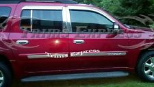 2002-2009 GMC Envoy XL ONLY 6Pc Chrome Pillar Post Stainless Steel