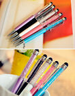 10PCS New Gift Crystal Ballpoint Pen With Swarovski Elements WITH Touch Screen