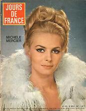 JOURS DE FRANCE N°679 michele mercier haute couture charles andrea parisy paola