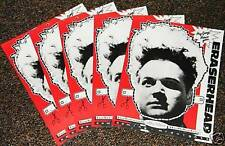 David Lynch's ERASERHEAD 1980's ORIGINALS! GROUP OF 5 NM 11x14 PAPER MASKS!
