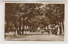 Gloucestershire postcard - Looking Down Promenade, Cheltenham Spa - RP