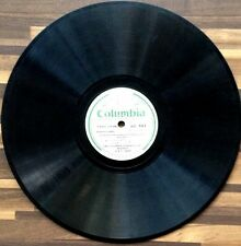 India Columbia 78rpm record 1948 Gnanasoundari Tamil Parts 7 & 8