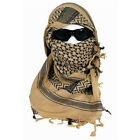 Tan Shemagh Lightweight Arab Tactical Desert Keffiyeh Scarf