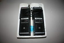 Vintage 1974 Emerson Walkie Talkie Pair WC-7