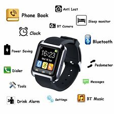 U8S Smart Bluetooth 3.0 Watch Outdoor Sports Smartwatch For Android Smartphone