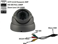 CCTV  Panasonic 2MP HD-SDI Full 1080P Waterproof Lens 2.8-12mm Dome  IR Camera