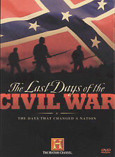 The Last Days of the Civil War (History Channel), Very Good DVD, ,