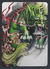 #850.048 MODERN WIDE swap card - MINT- Japanese Dragon of Power and Fortune