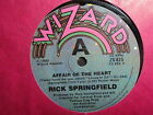 "Rick Springfield ""Affair Of The Heart"" Great Oz 7"""