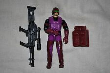 "1990 Hasbro GI Joe 3 3/4"" 1/18 SAW - Viper v1 w/ Accessories SJ-727"
