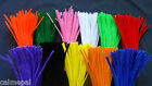 """Chenille Craft Stems Pipe Cleaners 30cm 12""""Various Quantities & Colours Metallic"""